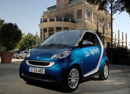 Prova su strada della Smart Micro Hybrid Drive. Test drive e caratteristiche tecniche della city car con motore elettrico che promette consumi di benzina assai ridotti.