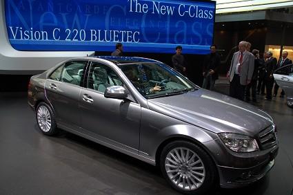 Mercedes Vision C Bluetec: primo motore Bluetec conforme alla normativa Euro 6