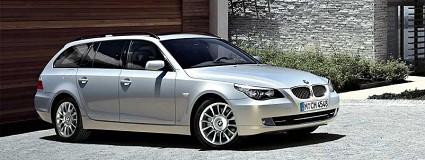 Nuova Bmw Serie 5 Touring 2011: test drive e prova su strada. Motori sportivi e interni-salotto
