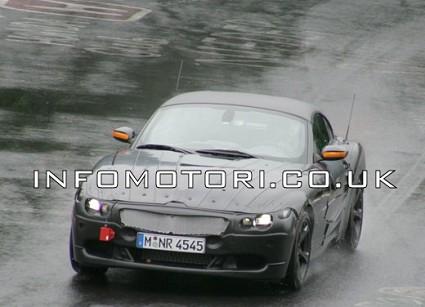 Nuova BMW Z4 erede della Z3: prime foto spia della spider tedesca rinnovata