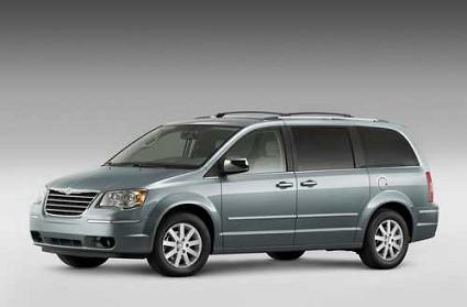 Chrysler grand voyager monovolume con salottino interno - Salottino da interno ...
