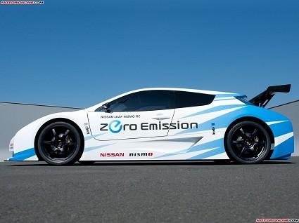 Nissan Leaf Nismo Concept 2011: aggressiva ed ecologica
