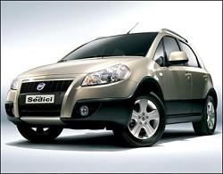 Fiat sedici 2008: il 4x4 in tre allestimenti Dynamic Emotion ed Experience rinnovato. E' tra i Suv compatti pi?? venduti in Italia. E adesso arriva anche la Fiat Panda Rossignol