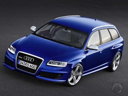 Prova Audi RS6 Avant: test drive da brividi per una station wagon con motore V10 di 5,2 litri da 580 CV. Potenza e sportivit?á ai massi livelli.