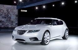 Saab 9-X BioHybrid: design super dinamico senza maniglie alle porte e specchietti retrovisori. Interni innovativi e motori ad elettricit?á, luce solare e bioetanolo. Giudicato miglior prototipo del Salone di Ginevra 2008
