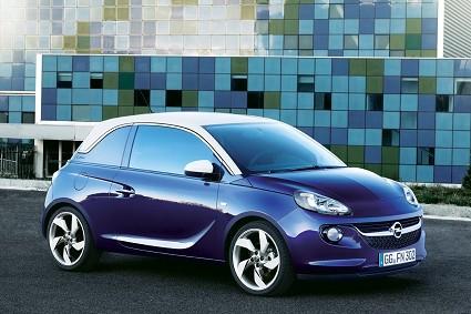 Nuova Opel Adam 2012: city car con tante varianti