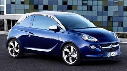 Nuova Opel Adam 2012: confronto con la Fiat 500