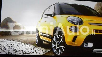 Nuova Fiat 500L Trekking: sportiva per le famiglie