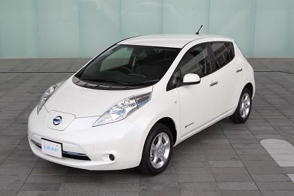 Nuova Nissan Leaf 2013: meno consumi, maggiore autonomia