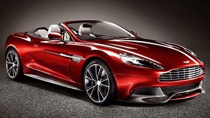 Aston Martin Vanquish Volante 2013: motori e prestazioni
