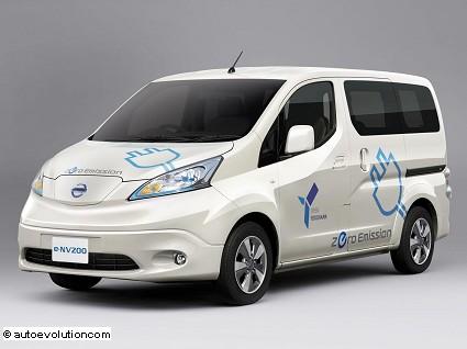 Nissan e-NV200 2014: ricarica in trenta minuti