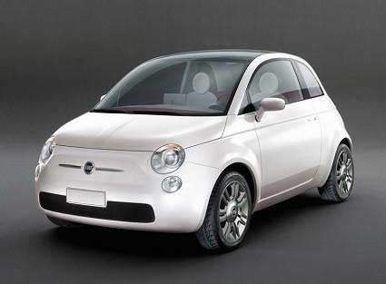 Nuova Fiat 500: segnali sul lunotto per comunicare ai conducenti delle auto dietro mediante emoticons
