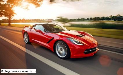 Nuova Chevrolet Corvette Z06 2014: motore e prestazioni