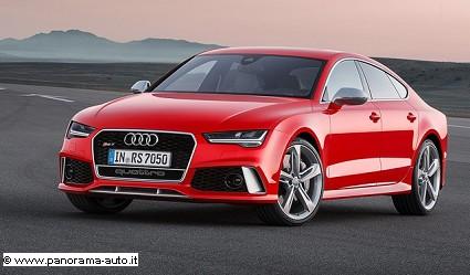 Nuova Audi RS7 Sportback 2014: cambiamenti estetici, motori e caratteristiche tecniche