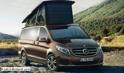 Mercedes Marco Polo: nuovo caravan al prossimo Salon di D??sseldorf: caratteristiche tecniche, dotazioni e interni