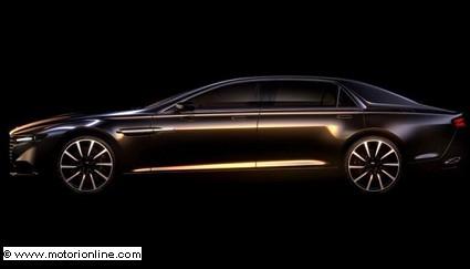Aston Martin Lagonda: inedita berlina di lusso in edizione limitata. Prossimo 2015 il debutto
