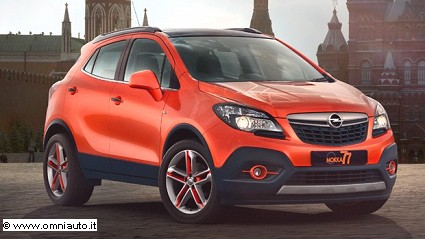 Opel Mokka in versione biffe Gpl e in color arancio per la Moscow Edition: le novit?á