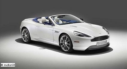Aston Martin DB9 Volante Morning Frost: nuovo allestimento personalizzato di Q by Aston Martin