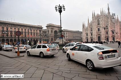 Taxi a Milano: installate telecamere su 200 vetture. Novit?á e vantaggi