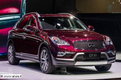 Salone di Guangzhou: arriva la nuova Infiniti QX 50. Caratteristiche tecniche e motori