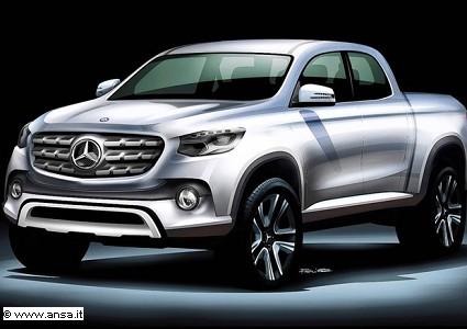 Novit?á Mercedes: entro il 2020 l'ingresso nel mondo dei pick up. Le anticipazioni