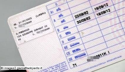 Patente auto documento valido per check in per voli nazionali: come usarla