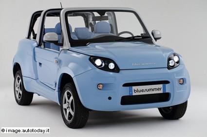 Bollorè Bluesummer: in vendita da settembre la piccola cabrio elettrica. Caratteristiche tecniche