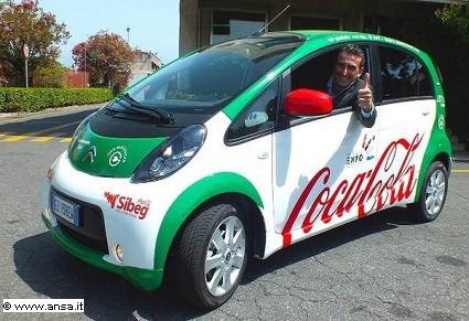 Sibeg, Coca Cola: 100 auto full electric Citroen C-Zero per i suoi 100 addetti vendite. La novità