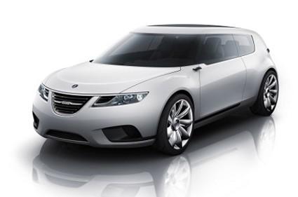 Nuova Saab 9-X Air cabrio: design ultramoderno e tecnologia ibrida per un?ÇÖauto davvero clamorosa. Sar?á svelata al Salone di Parigi. Foto.
