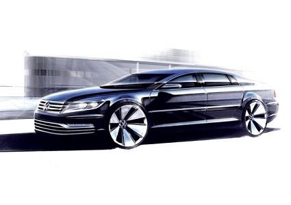 Nuova Volkswagen Phaeton arriver?á solo nel 2020 in versione elettrica: anticipazioni