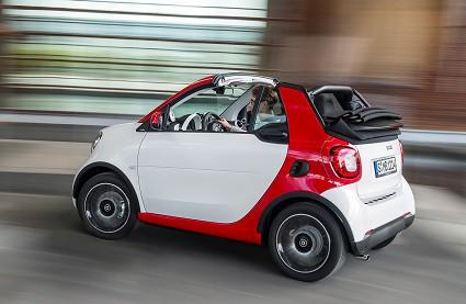 Smart fortwo Cabrio 2016: caratteristiche tecniche, motori e prezzi