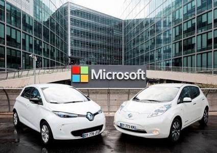 Microsoft: nuovo accordo con Renault e Nissan per servizi connessi. Cosa prevede