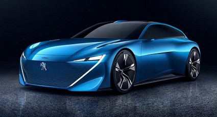 Peugeot Instinct ibrida plug-in con self-driving car: caratteristiche tecniche, dotazioni e prestazioni