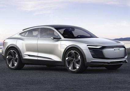 Audi e-Tron Sportback concept elettica: la bella sopresa di Audi al Salone di Shanghai 2017