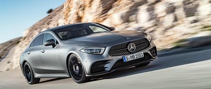 Nuova Mercedes CLS 2018 a marzo e in vendita ufficiale da agosto: motori e novità