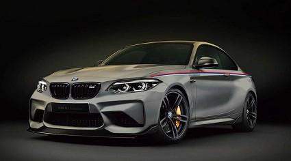 Nuova Bmw M2 Competition rivista nel design e nei motori. Cosa cambia