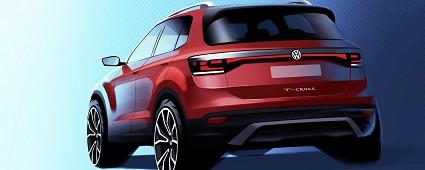 Volkswagen T-Cross: nuovo suv in arrivo nel 2019. Prime caratteristiche tecniche