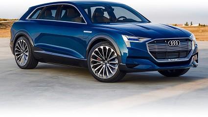 Audi e-tron elettrico con tecnologia di pedaggio integrato: la novità