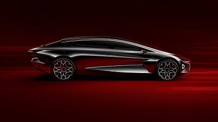 Aston Martin Lagonda 100% elettrica al Salone di Ginevra: futuro ed efficienza su strada
