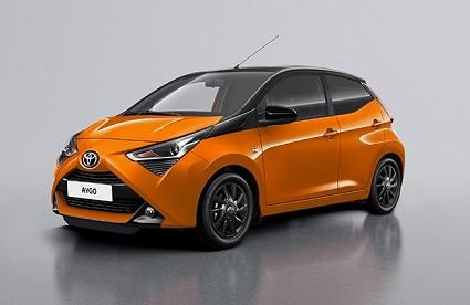 Toyota Aygo x-wave orange e x-cite: due serie speciali al Salone di Ginevra. Caratteristiche tecniche