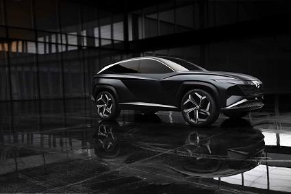 Hyundai Vision T Concept Plug-in Hybrid al Salone di Los Angeles prime caratteristiche tecniche annunciate