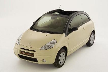 cabrio pi venduta in italia la citroen c3 ora con. Black Bedroom Furniture Sets. Home Design Ideas