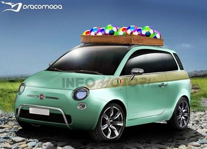 Nuova Fiat 500 Giardiniera-Giardinetta o station wagon. Foto di alcune ipotesi. Arriver?á mai sul mercato?