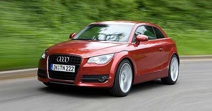 Audi A1: la piccola compatta che andr?á a competere con la Mini e con la futura Alfa Romeo Junior. Linea sportiva e con motori scattanti.