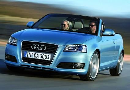 Nuova Audi A3 Cabriolet: motori meno aggressivi e tre allestimenti a prezzi più accessibili