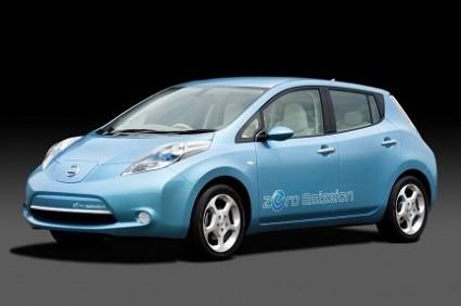 Nuova Nissan Leaf 2010: motore elettrico e interessanti ecoincentivi